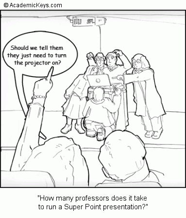 Cartoon #25, How many professors does it take 
